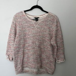 H&M textures sweater